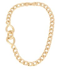 Kenneth Cole | Metallic Jet Set Twisted Link Necklace | Lyst