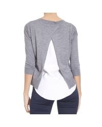 Cruciani | Gray Sweater Woman | Lyst
