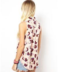 MINKPINK | Natural In Bloom Shirt | Lyst