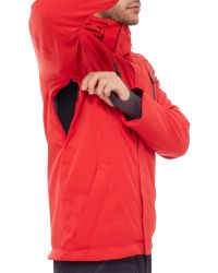 The North Face Red Waterproof Ravina Jacket for men
