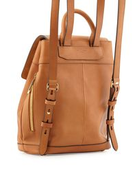 Rag & Bone - Brown Mini Pilot Leather Backpack - Lyst