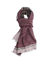Manila Grace | Purple Scarf | Lyst
