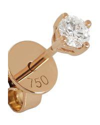 Anita Ko - Pink 18-Karat Rose Gold Diamond Earrings - Lyst