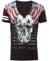Philipp Plein | Black 'chorus' T-shirt for Men | Lyst