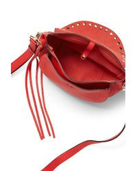 Rebecca Minkoff | Red Unlined Saddle Bag | Lyst