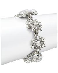 Oscar de la Renta | Metallic Star And Heart Toggle Bracelet | Lyst