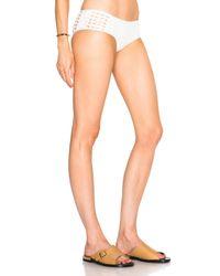 La Perla | White Ethno Soutache Bikini Bottom | Lyst