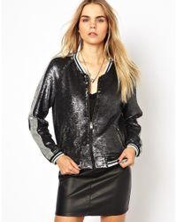 IRO | Black 'kolia' Biker Jacket | Lyst