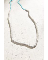 Urban Outfitters | Blue Marlo Pop Color Beaded Necklace | Lyst