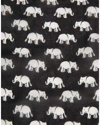ASOS - Multicolor Elephant Print Headscarf - Lyst