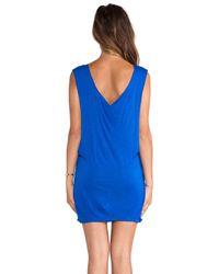 Indah Blue Jaya Jersey Dress