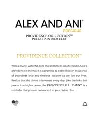 ALEX AND ANI - Metallic Precious Metals Evil Eye Fancy Bead Pull Chain Bracelet - Lyst