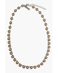 Rachel Zoe | Metallic 'nicola' Collar Necklace | Lyst