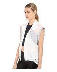 Adidas By Stella McCartney - White Adizero Gilet Ai8474 - Lyst