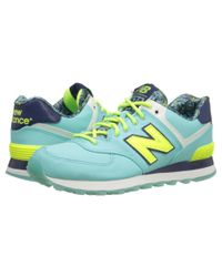New Balance | Blue Wl574 - Luau Collection | Lyst