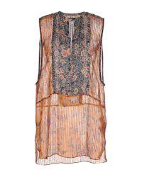 Isabel Marant | Orange Shirt | Lyst