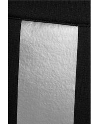Être Cécile Black Printed Scuba-jersey Mini Skirt