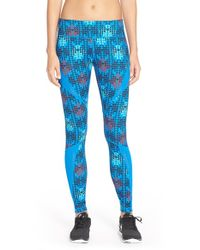 Zella Blue Live In Starscape Leggings