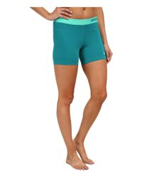Nike | Green Pro Five-inch Short | Lyst
