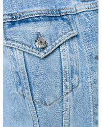 Acne Studios | Blue Denim Jacket | Lyst