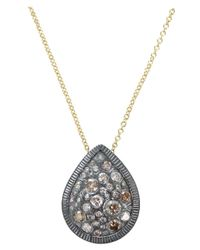 Todd Reed | Yellow Teardrop Pendant Necklace | Lyst