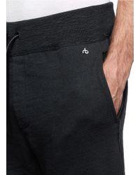 Rag & Bone Black 'stretch Limo' Training Pants for men