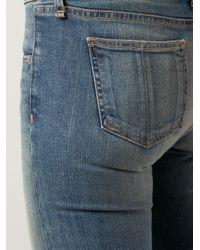 Rag & Bone | Blue Brimfield Skinny Jean | Lyst