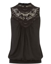 Oasis - Black The Leila Top - Lyst