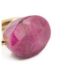 Marie-hélène De Taillac | Metallic Opaque Ruby Ring | Lyst