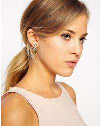 ASOS - Multicolor Pastel Teardrop Jewel Swing Earrings - Lyst