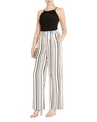Coast White Havana Stripe Trousers