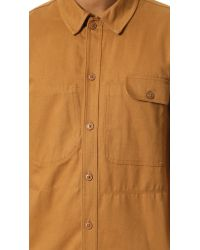 Dickies Construct Brown Bandsaw Overshirt for men
