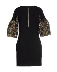 Marco Bologna - Black Short Dress - Lyst