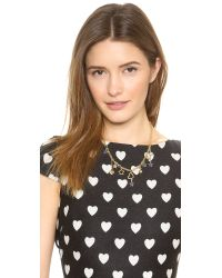 Marc By Marc Jacobs Metallic Shooting Star Charm Necklace - Mirror Multioro