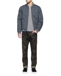 Rag & Bone Multicolor 'james' Camouflage Pants for men