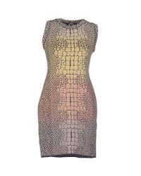 M Missoni Yellow Short Dress