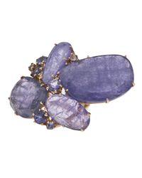 Federica Rettore | Blue Amethyst Ring | Lyst