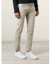 Jacob Cohen Natural Chino Trousers for men