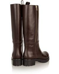 Marni Brown Leather Boots