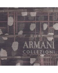 Armani | Brown Foulard | Lyst
