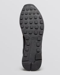 Nike - Black Lace Up Sneakers - Women'S Internationalist Mid - Lyst