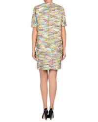 Chloé Brown Paisley Woolblend Dress
