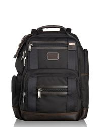 Tumi | Brown 'alpha Bravo - Kingsville' Deluxe Brief Pack for Men | Lyst