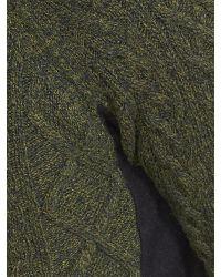 Banana Republic | Green Italian Wool Button Mock for Men | Lyst