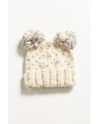 Urban Outfitters Natural Animal Ears Beanie