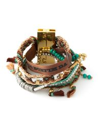 Hipanema - Brown 'Turquoise' Bracelet - Lyst