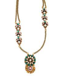 Deepa Gurnani - Multicolor Colleen Necklace - Lyst