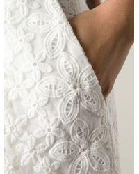 JOSEPH White Lace Shorts