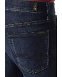 7 For All Mankind - Blue Luxe Performance: Carsen Easy Straight for Men - Lyst