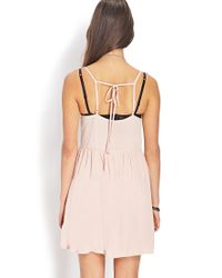 Forever 21 - Pink Darling Babydoll Dress - Lyst